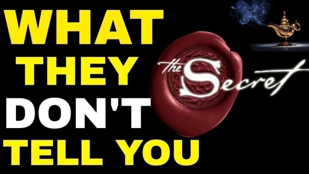 What They Don't Want You To Know About The Law of Attraction {The Secret}