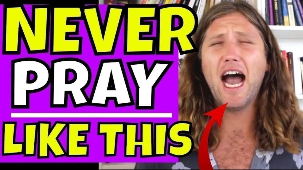 #1 Thing You Must Give Up To PRAY FOR WHAT YOU WANT AND GET IT (Law of Attraction)