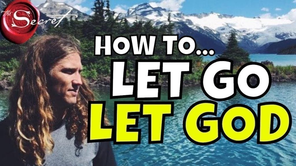 LET GO AND LET GOD: Shockingly Easy Way To Manifest Using Law of Attraction (SET IT AND FORGET IT)