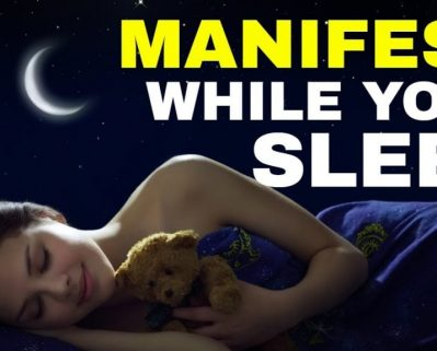 Attract What You Want While You Sleep * Law of Attraction Sleep Technique (MANIFEST WHILE SLEEPING!)