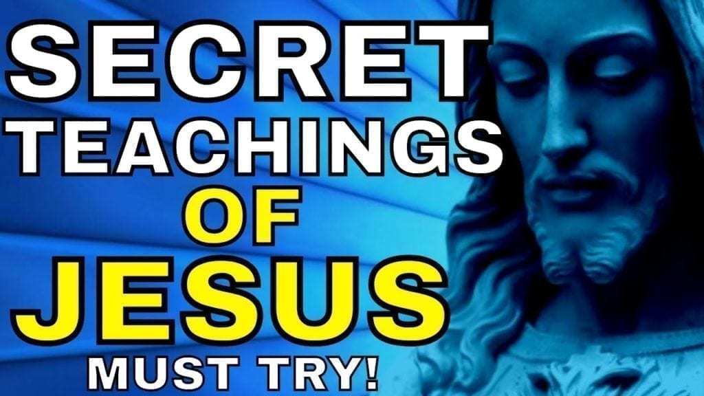 HIDDEN TEACHINGS of Jesus That Explain Manifestation, Consciousness & Attracting What You Want ✅