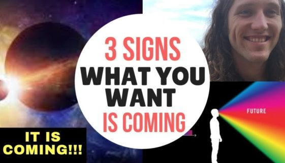 3 Signs You Will ATTRACT WHAT YOU WANT IN 2019 Using The Secret Law of Attraction (ITS COMING!!)