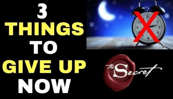✅ 3 THINGS YOU MUST GIVE UP TO MANIFEST WHILE SLEEPING  (Law of Attraction Sleep Technique)