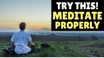 The Shocking Truth about Meditation | Most People Get This Wrong!! (WARNING!)