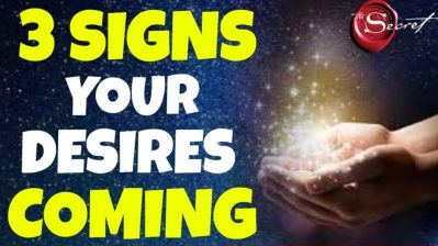 3 Signs You Are Receiving What You Want VERY Soon | The Secret | Law of Attraction
