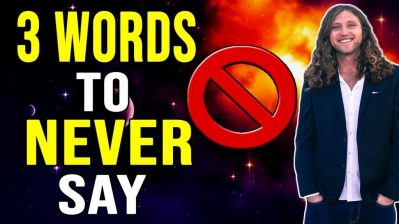 3 Shocking Words That BLOCK The Law of Attraction (WARNING!!!)
