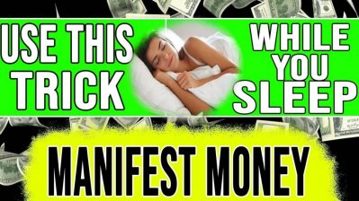 MANIFEST MONEY WHILE YOU SLEEP ✅ Law of Attraction SLEEP TECHNIQUE to MANIFEST WHILE YOU SLEEP