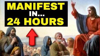 HIDDEN TEACHINGS of The Bible Explains How To MANIFEST What You Want In 24 HOURS