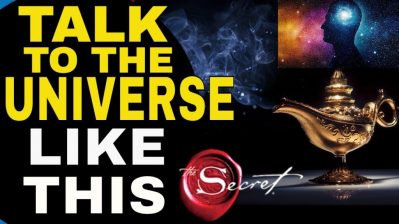 How To TALK TO THE UNIVERSE To Manifest ANYTHING You Want FAST | Law of Attraction
