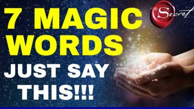 7 MAGICAL WORDS To Attract What You Want FAST | The Law of Attraction