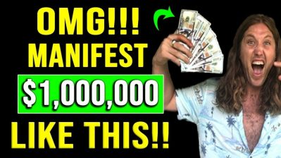 I Manifested $1,000,000! (Most Powerful Law of Attraction Visualization For MANIFESTING MONEY FAST!)