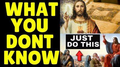 HIDDEN TEACHING OF JESUS CHRIST Reveals PRAYER TECHNIQUE For Effortless Manifestation INSTANTLY!!