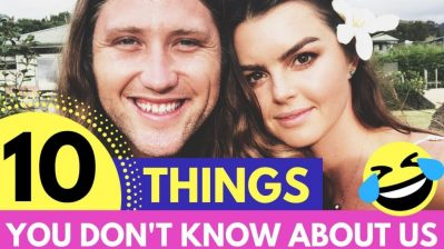 10 Things You Didn't Know About Us ?  ?  My Wife And I...