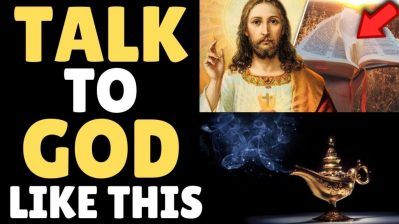 HIDDEN BIBLE TEACHING Explains How To Talk To God (Warning!! Instant Results!!)
