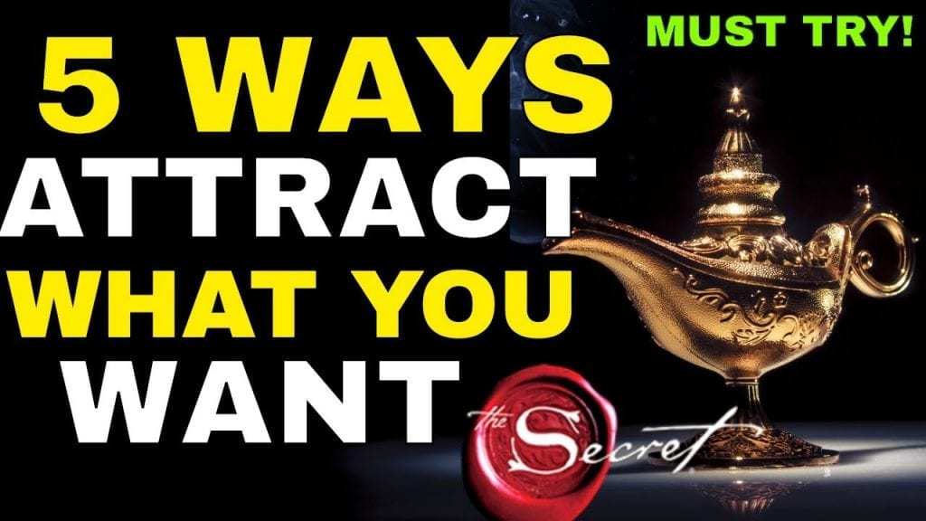 5 Shocking Law of Attraction Techniques To Attract WHATEVER You Want In Life {EXTREMELY POWERFUL!}