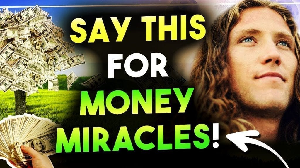 Say This To MANIFEST MONEY MIRACLES ?? Attract HUGE Amounts of Money!!!  (Law of Attraction)