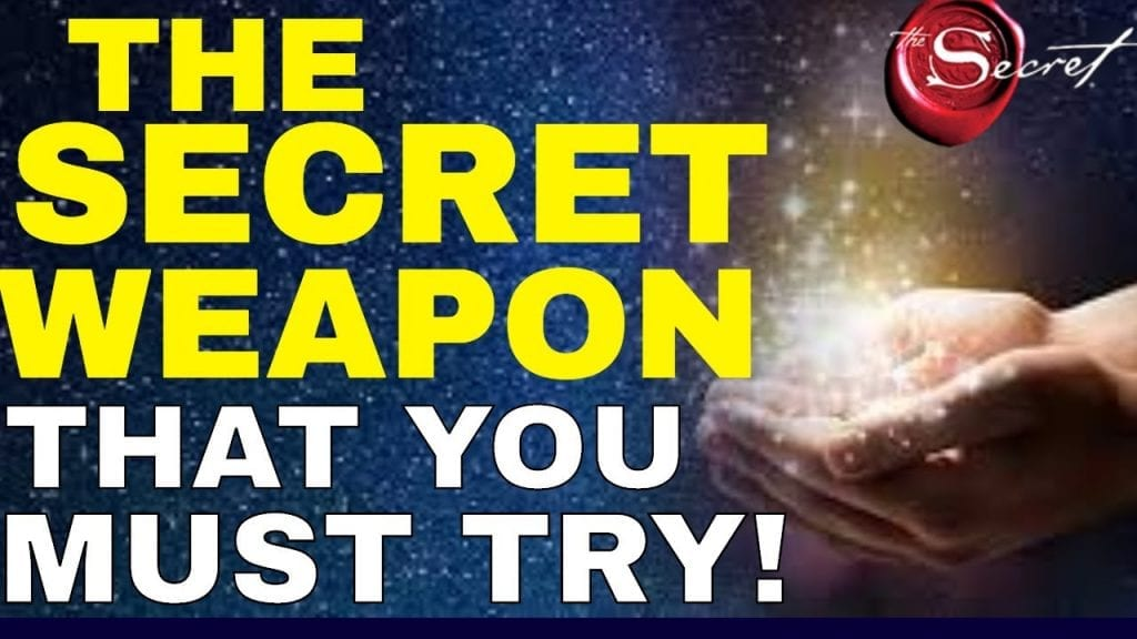 THE SECRET WEAPON to Manifest WHATEVER You Want In Life {Law of Attraction Secrets!}