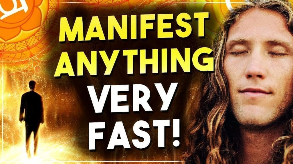 SAY THIS TO MANIFEST ANYTHING YOU WANT FAST  (Law of Attraction Secrets)