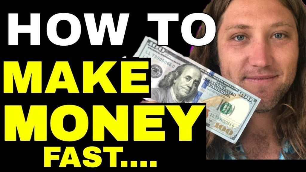WHEN YOU WANT TO MAKE MONEY FAST, DO THIS!