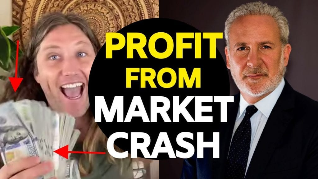 Peter Schiff: The Stock Market Crash, How To Prepare and Profit, Buy Gold, Silver