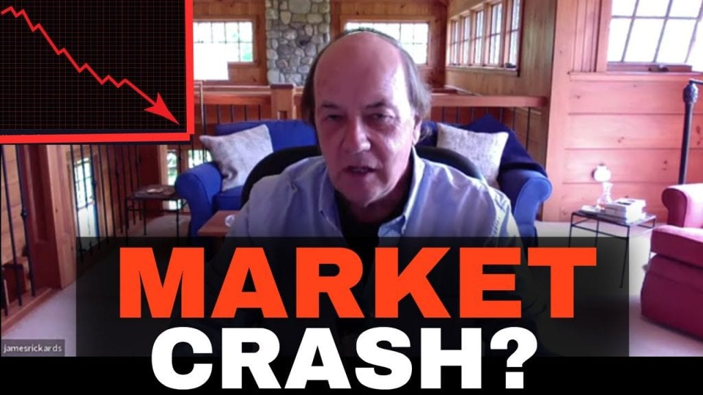 Jim Rickards: How To Prepare For The Next Market Crash; Buy Gold, Silver...
