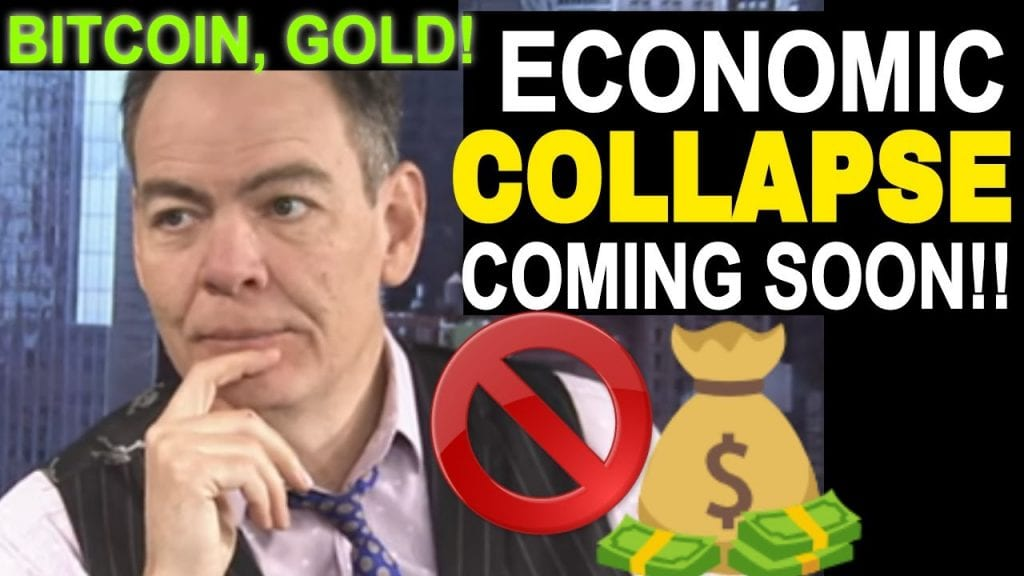 MAX KEISER - THE STOCK MARKET CRASH and FEDERAL RESERVE.. BUY GOLD, BUY BITCOIN