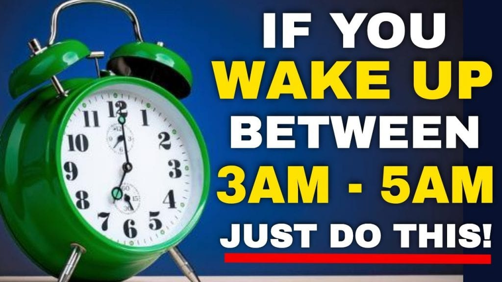 Do You Often Wake Up Between 3am and 5am? Here Is What It Means..