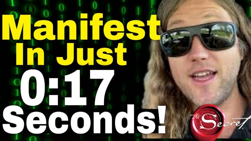 How to Attract ANYTHING In 17 SECONDS | Law of Attraction (THE SECRET!!)