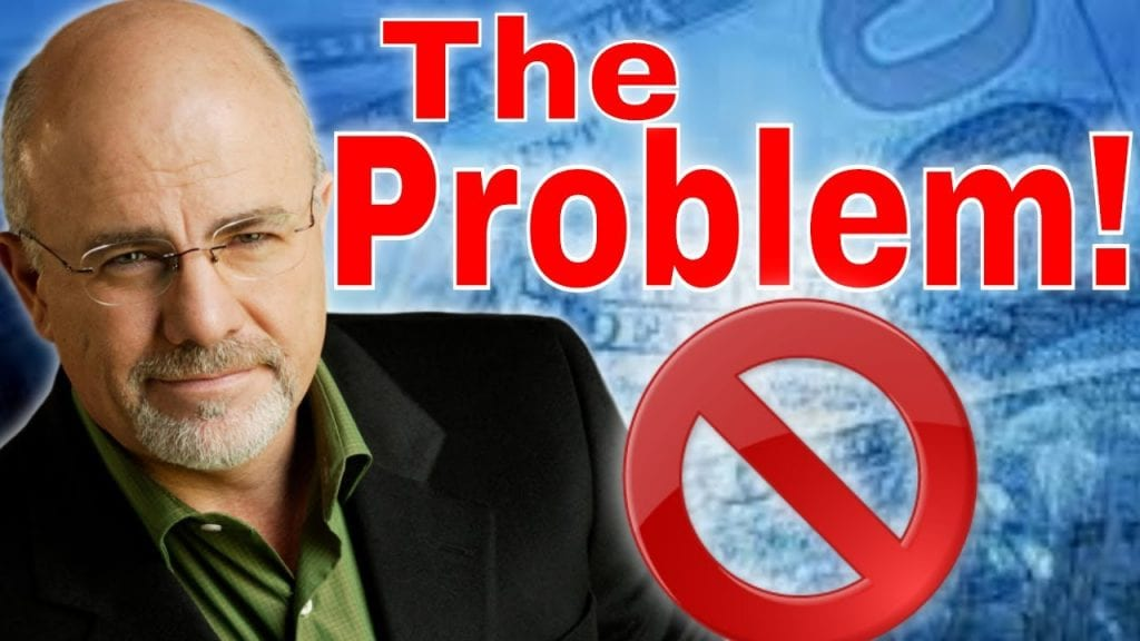 Dave Ramsey: My PROBLEM With Dave Ramsey and Getting Rich
