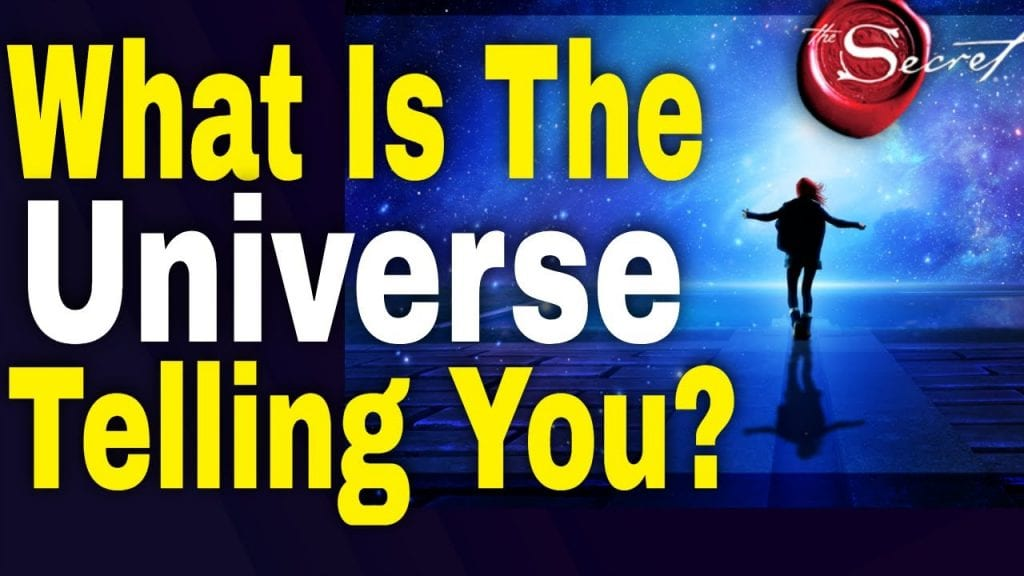 What is The Universe Telling you? (NEW Signs From The Universe)