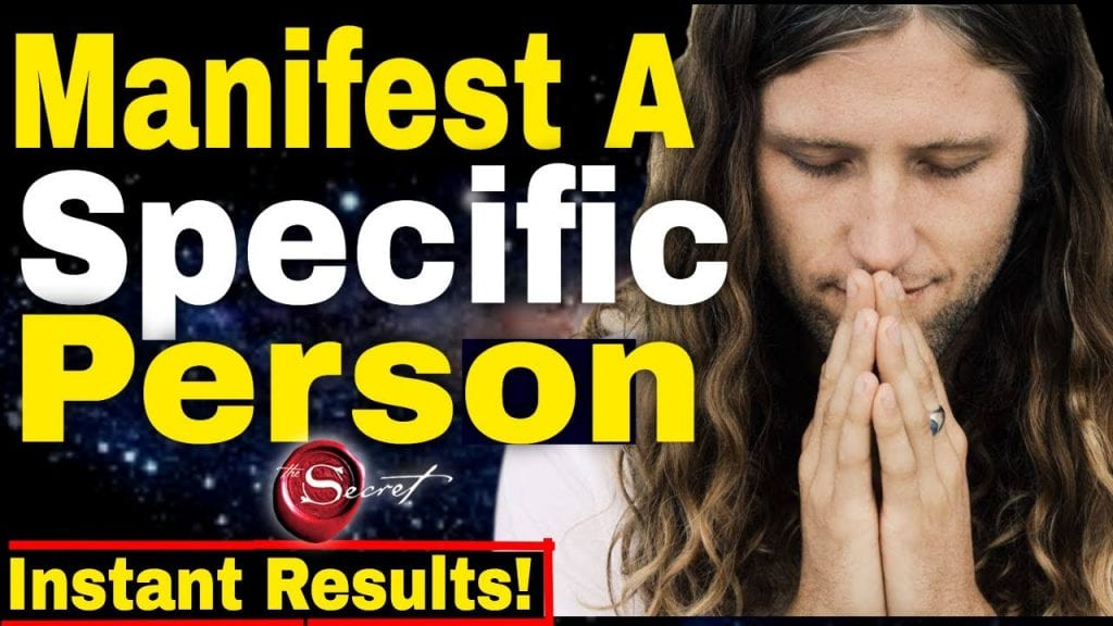 Easily Attract A Specific Into Your Life!!? FAST RESULTS!!
