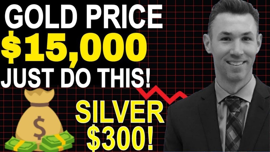 Gold Going To $15,000 Per Ounce? Invest In SILVER, GOLD, and Mining Stocks - Steve Penny