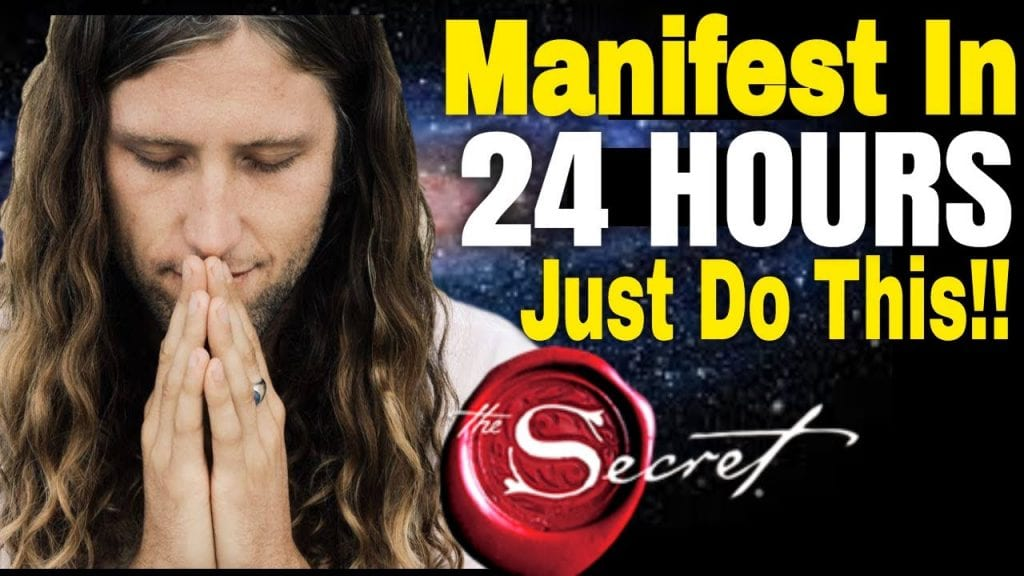 THE LAW OF ATTRACTION: Manifest What You Want in 24 HOURS