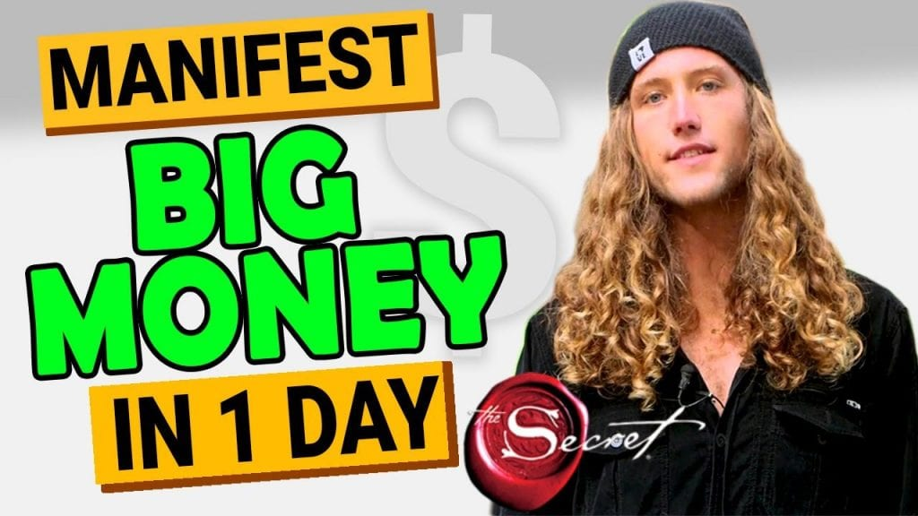 Receive UNEXPECTED MONEY in 1 DAY - I Manifested $15,000 in 24 HOURS Using The Law of Attraction!!