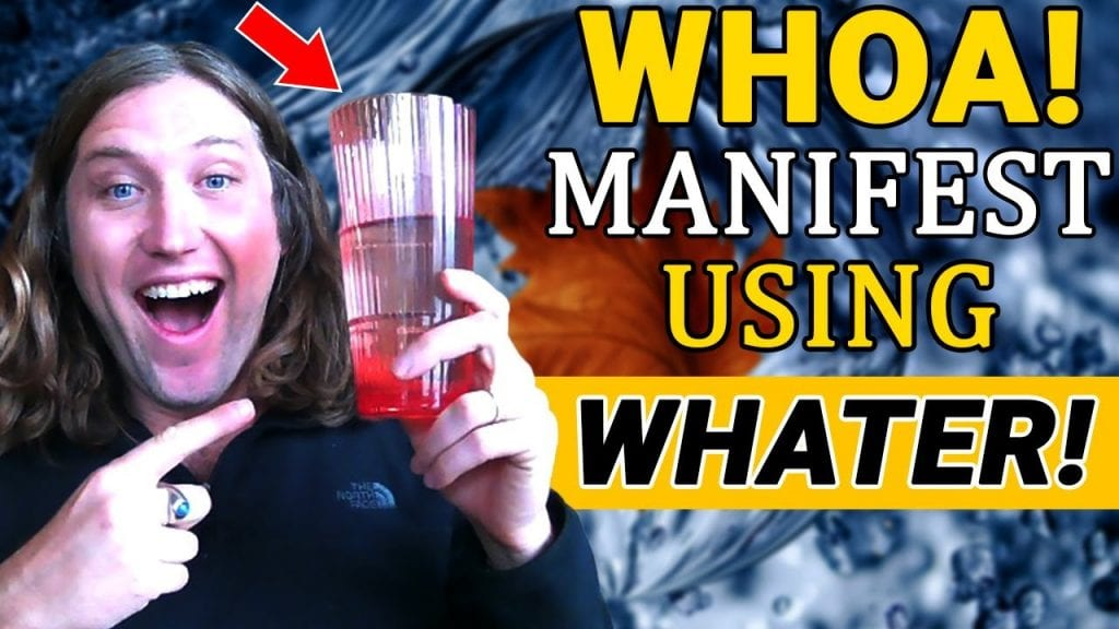USING WATER to MANIFEST What You Want in Life in 2021 | The Law of Attraction