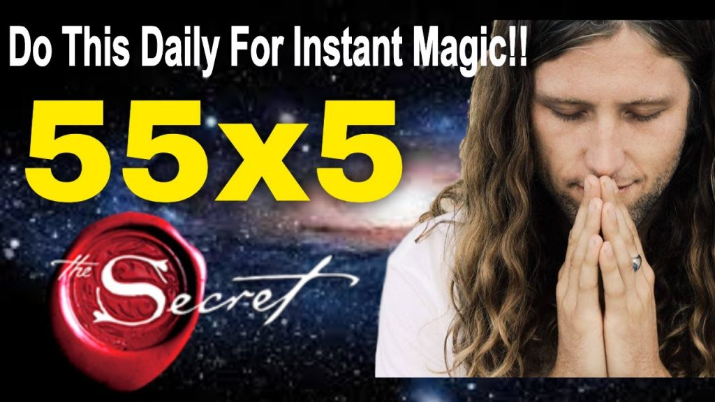 55x5 MANIFESTING RITUAL ?Ancient Law of Attraction Manifestation Technique | How to use it correctly
