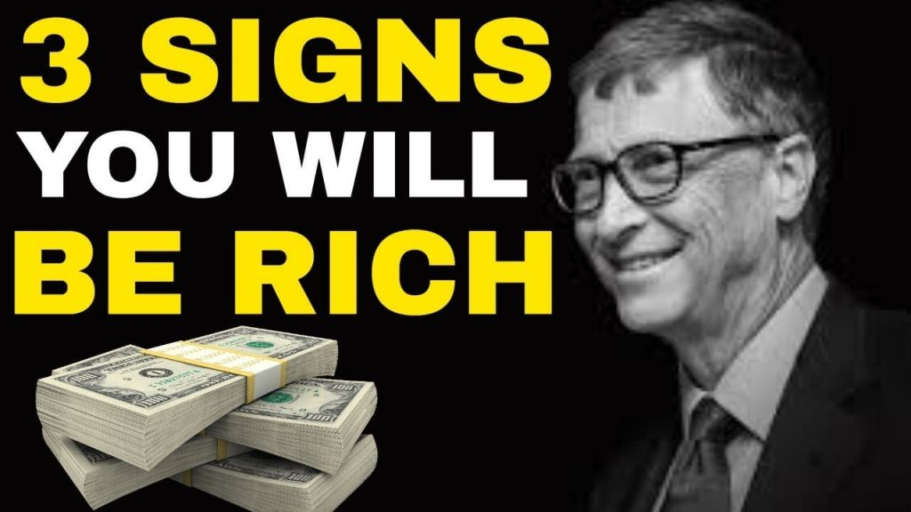 3 Signs You Will Become Rich One Day | Law of Attraction