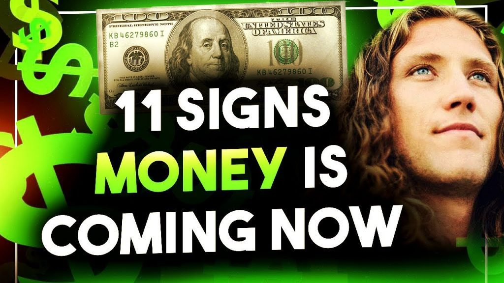 11 Signs You Will Get Rich One Day - Manifest Money NOW