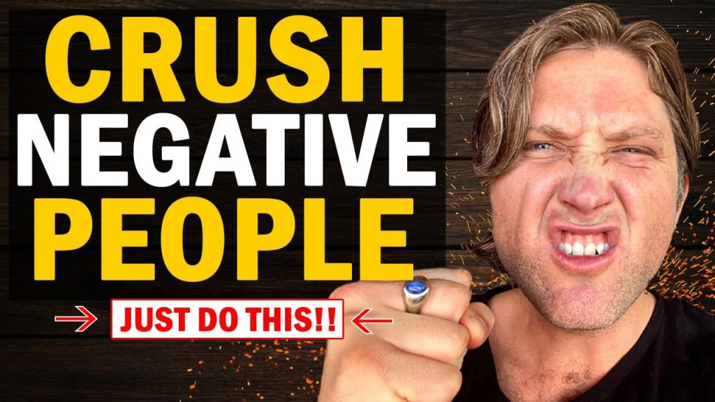 #1 Most Powerful Way to Deal With NEGATIVE & TOXIC PEOPLE Using LAW OF ATTRACTION   MUST TRY!