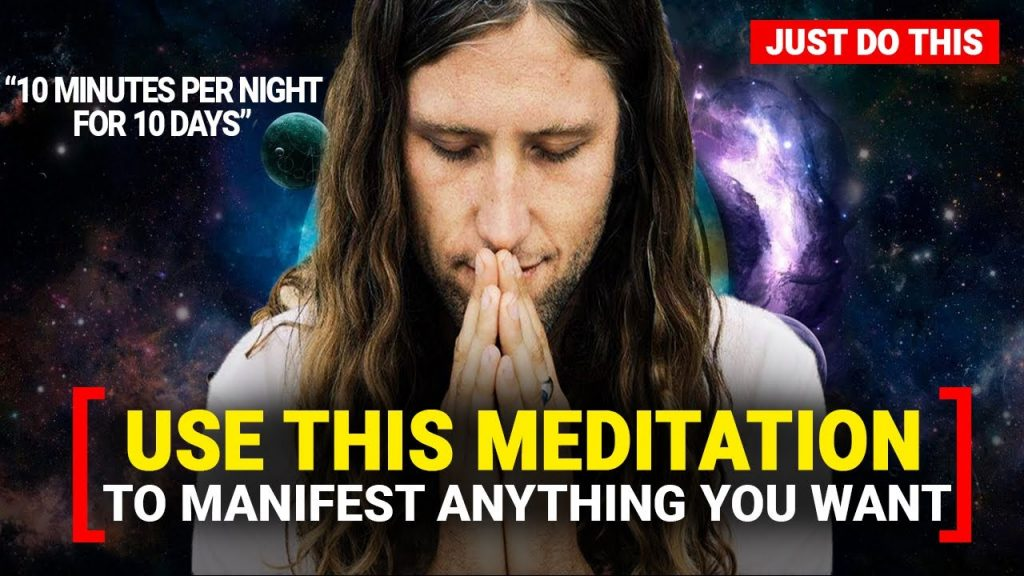 MANIFEST WHATEVER You Want Using This GUIDED MEDITATION (Law of Attraction)