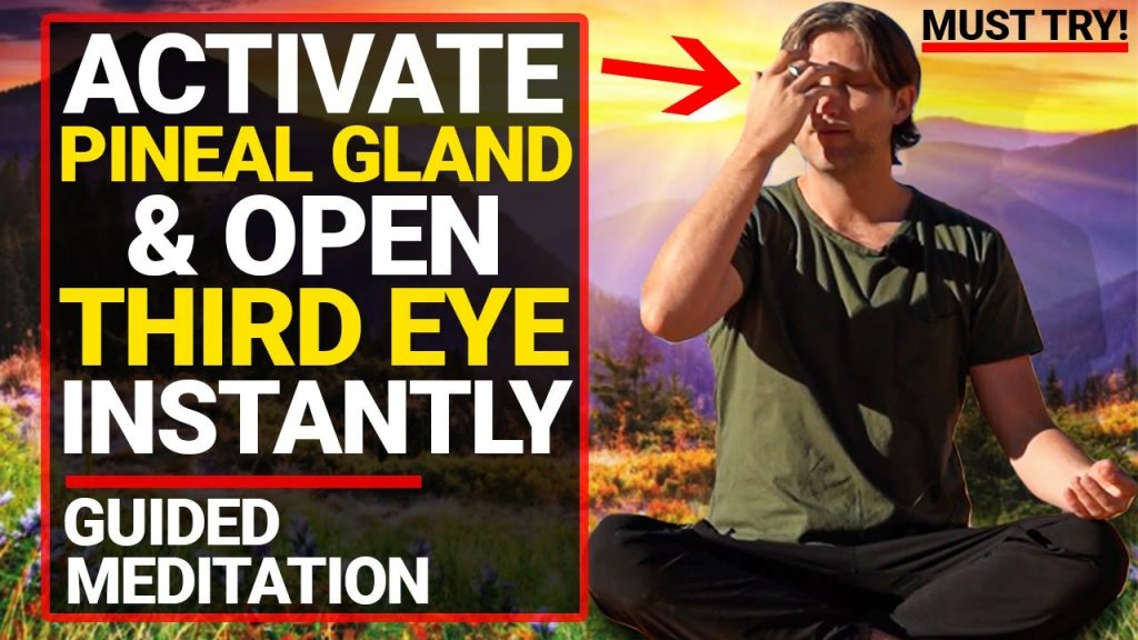 Guided Meditation to Activate Your Pineal Gland and Open Your Third Eye [INSTANT RESULTS!!]