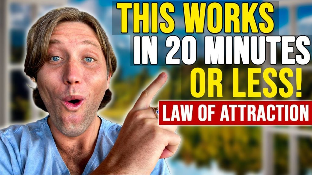 THE ULTIMATE LAW OF ATTRACTION SECRET | Do This Every Morning!!